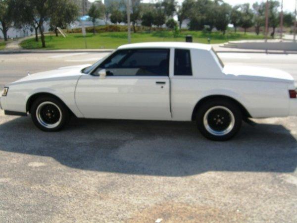 6: 1987 Buick Regal T-Type, 2-Door Coupe