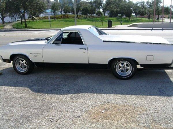 7: 1970 Chevrolet El Camino SS 454, Sedan Pickup