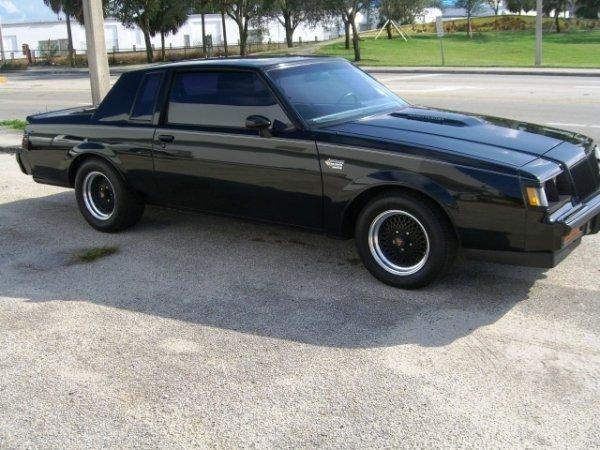 8: 1987 Buick Regal Grand National, 2-Door Coupe