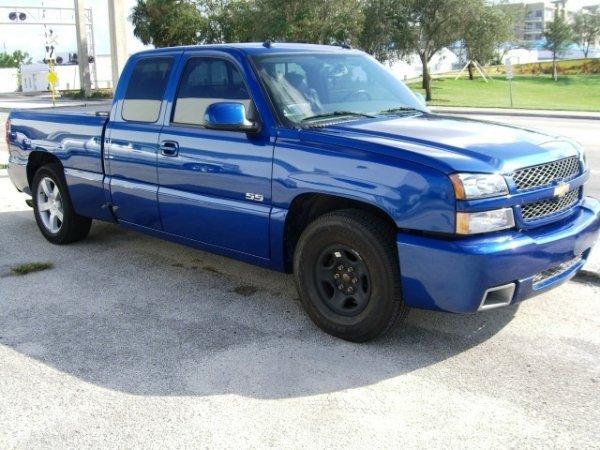 10: 2003 Chevrolet Silverado SS 1500, 4-Door Pickup