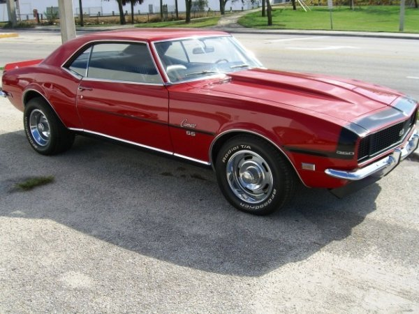 12: 1968 Chevrolet Camaro, 2-Door Hardtop