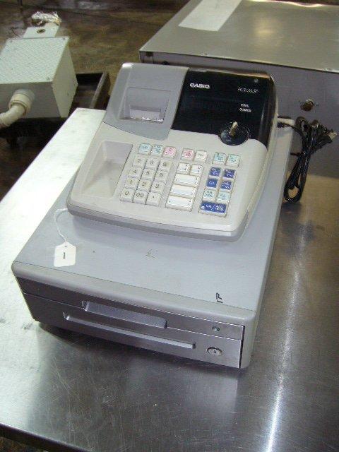 1: Casio PCR-265P Cash Register