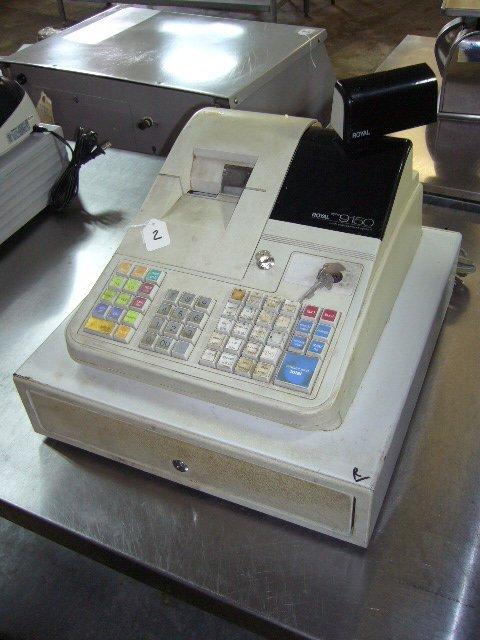 2: Royal Alpha9150 Cash Management System