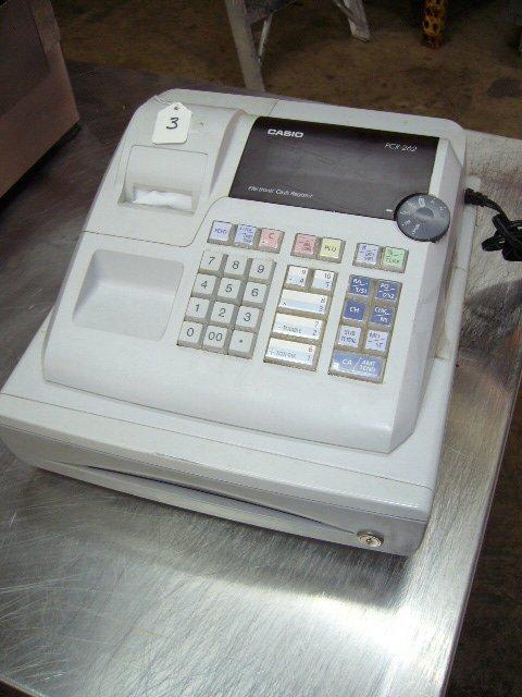 3: Casio PCR-262 Electronic Cash Register