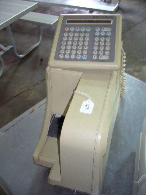 5: Monarch Marking MO9425-01ST Label Printer (missing p