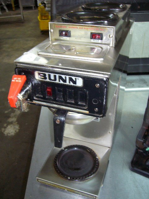 10: Bunn CWTF-15 3 Pot Coffee Machine
