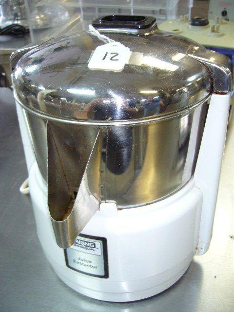 12: Waring 31JE27 Commercial Juice Extractor 6001C