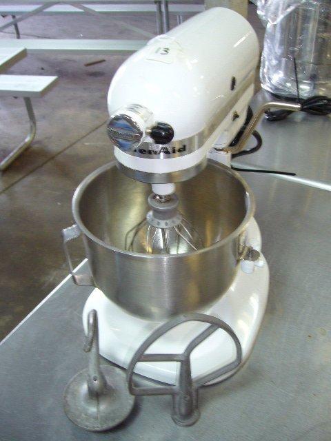 13: Kitchen Aid KSMC50S Commercial 5 Speed Mixer w/ S/S