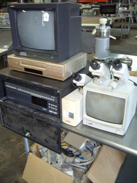 16: Security System w/ (2) Monitors, (2) VCR's, Video M