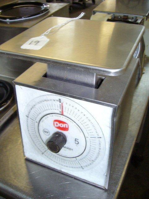 19: Don 1M3001 5lb. X1oz. Manual Portion Control Scale
