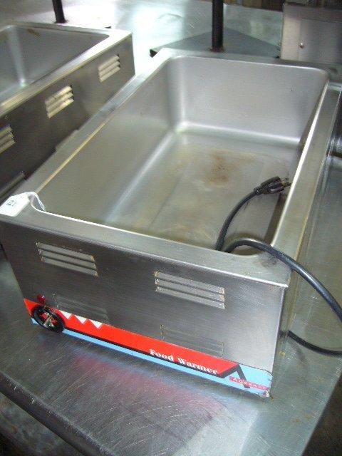 """21: Adcraft FW-1200W 12""""x20"""" C/T Food Warmer (missing k"""