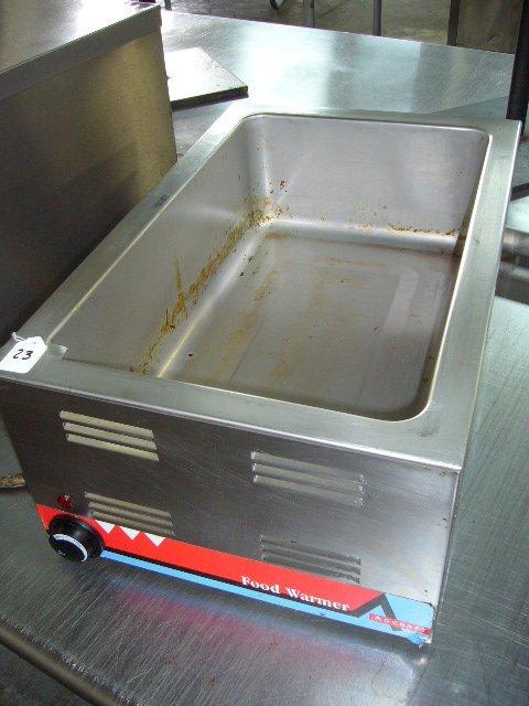 """23: Adcraft FW-1200W 12""""x20"""" C/T Food Warmer"""