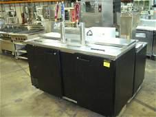 179A: Beverage Air Draft Beer Cooler/Dispenser 3 Kegs