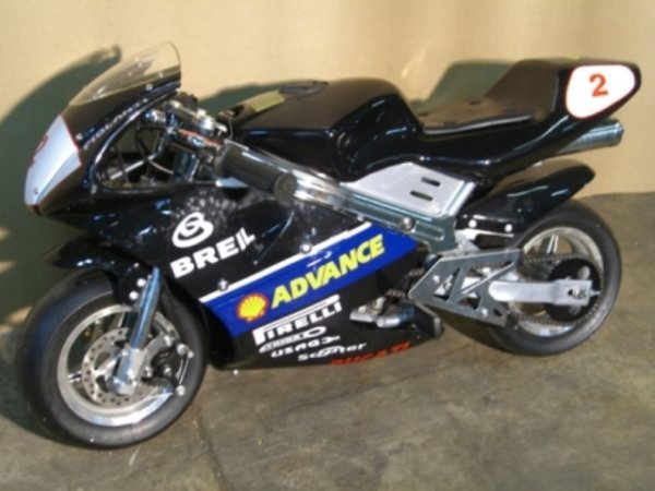 1B: New Demo Pocket Bike GLT-1 Mini Motorcycle 49cc