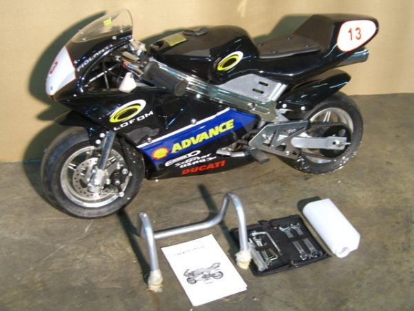 2B: New Pocket Bike GLT-1 Mini Motorcycle 49cc