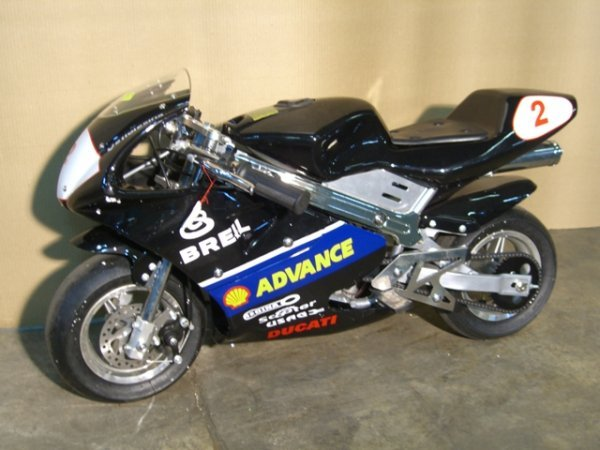 9B: New Pocket Bike GLT-1 Mini Motorcycle 49cc