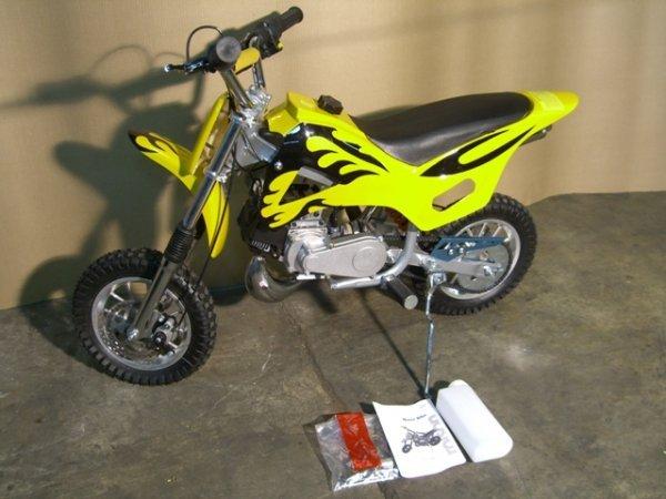 11B: New Rolson Mini Motorcycle Dirt Bike 49cc