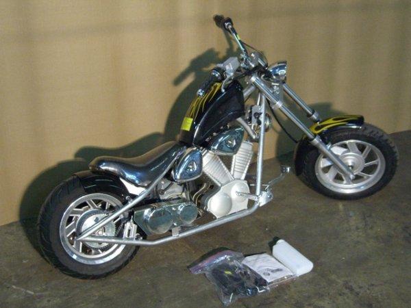 13B: New VelocitaBikes Mini Chopper Motorcycle 49cc