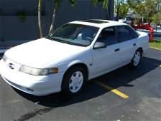 14B: 1993 Ford Taurus S.H.O. 4 Door White