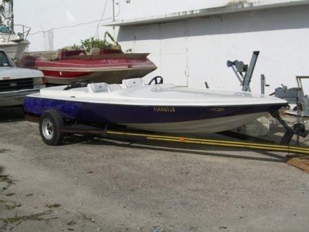 24B: 1972 Biesemeyer Jet Boat Purple