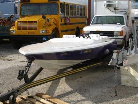 24B: 1972 Biesemeyer Jet Boat Purple - 2