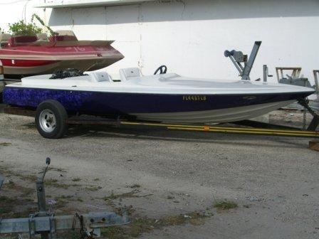 24B: 1972 Biesemeyer Jet Boat Purple - 3