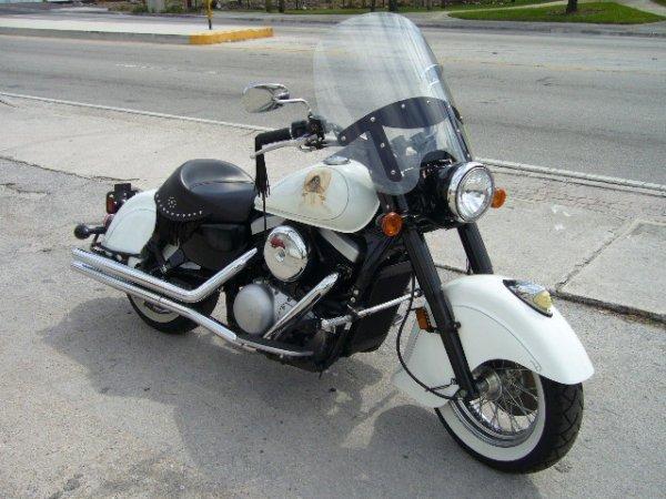 1: 1999 Kawasaki Vulcan Drifter Indian Chief Tribute