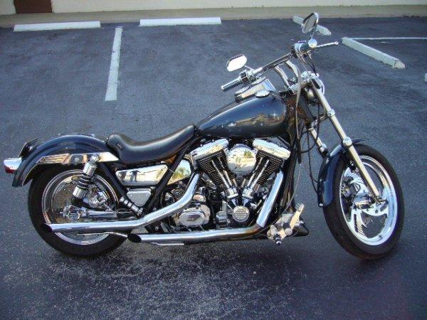 3: 1992 Harley Davidson FRS Low Rider Motorcycle