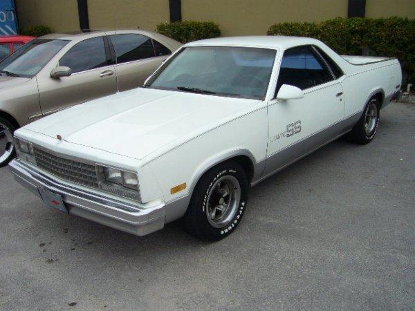5: 1986 Chevrolet El Camino White