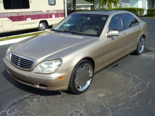 6: 2000 Mercedes Benz S-Class