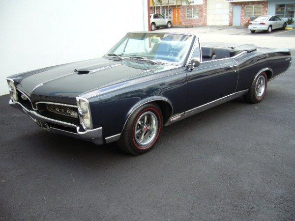 8: 1967 Pontiac GTO Convertible
