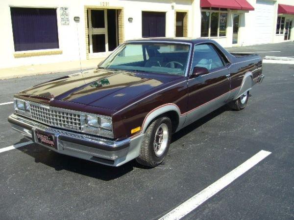 11: 1986 Chevrolet El Camino Maroone