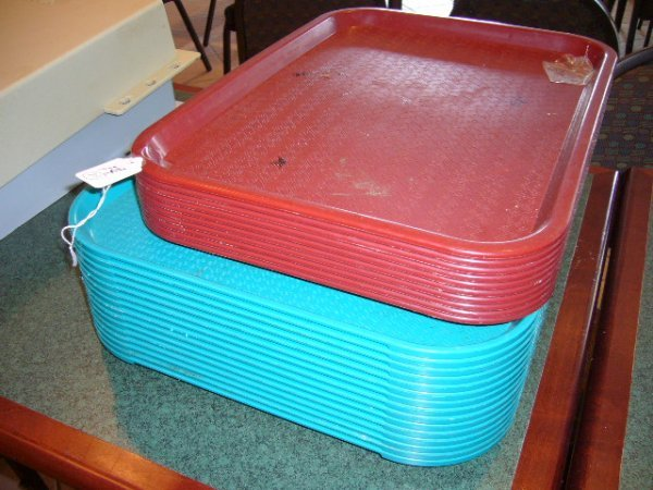 14A: (25) Plastic Trays