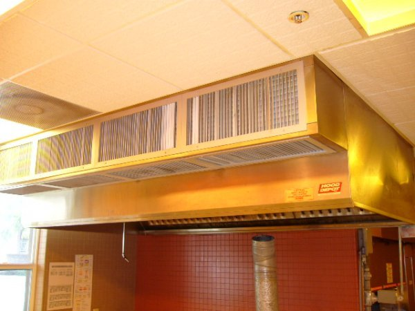 """110A: Hood Depot 108""""Lx61""""D S/S Grease Hood System"""