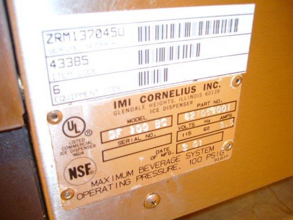 123A: IMI Cornelius DF200BC 8 Flavor Soda Dispenser - 3