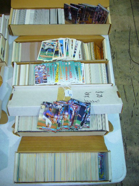 1: (5) Boxes MLB, NFL, NBA & Non-Sports Cards