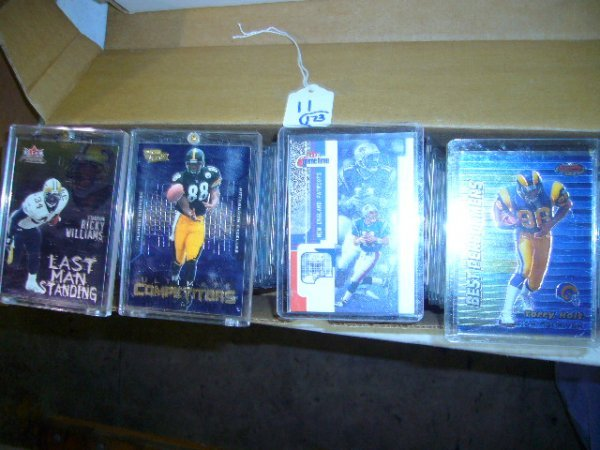 11: (173) NFL Cards (Most in plastic cases)