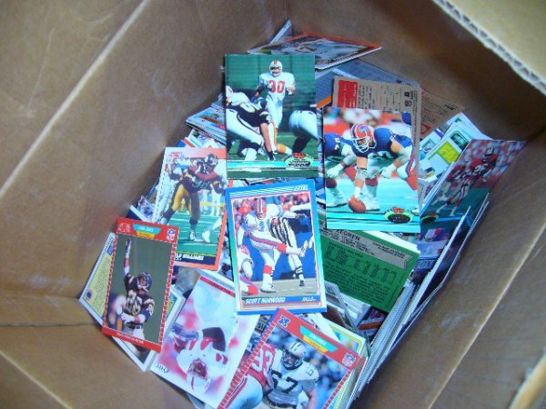 15: (1) Box Misc. Cards (80's-90's)
