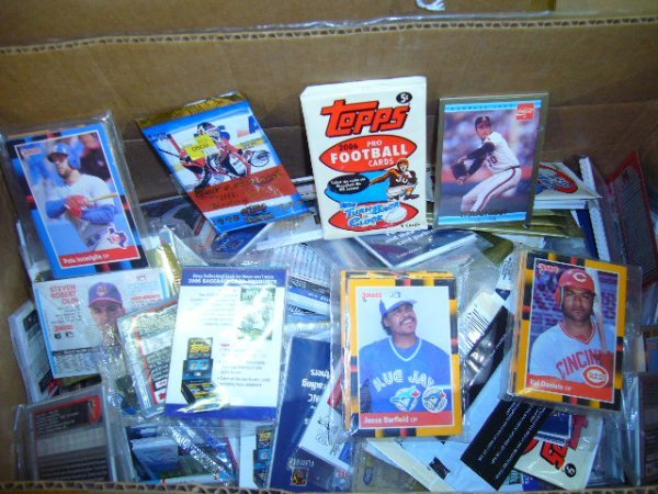 16: (1) Box over 300 packs Misc. Cards