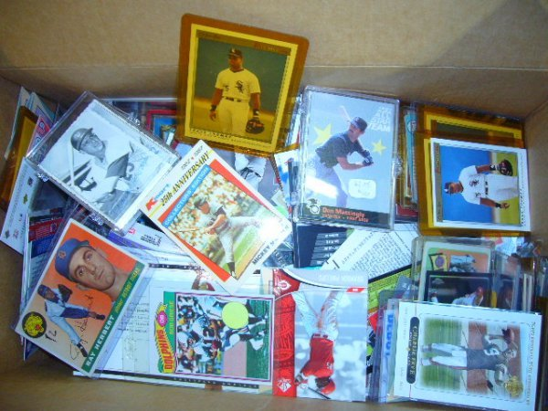 18: (1) Box Misc. Cards (Some in plastic cases)