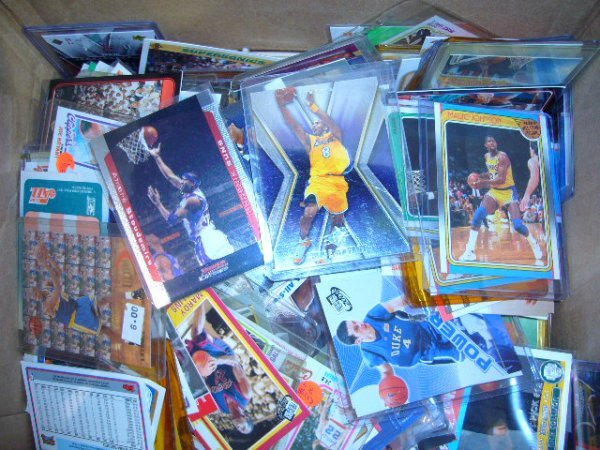 20: (1) Box NBA Cards (Some in plastic cases)