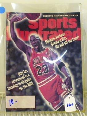 Michael Jordan Sports Illustrated 1/25/99