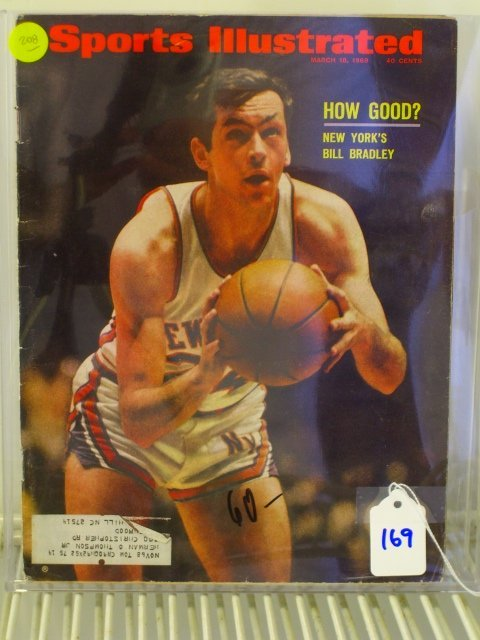 169: Bill Bradley Sports Illustrated 1968