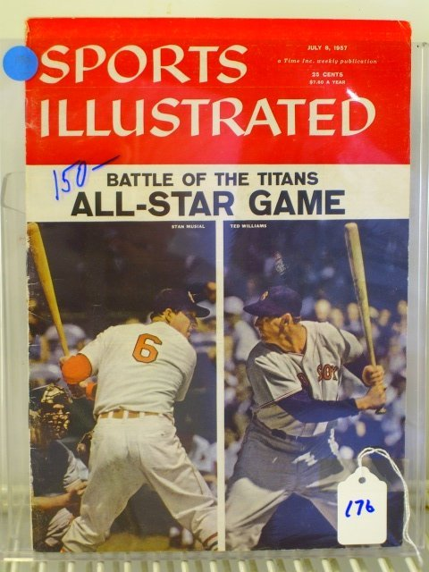 176: Williams/Musial Sports Illustrated 1957
