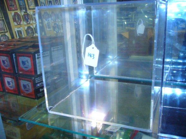 183: Square Basketball Holder Display Case