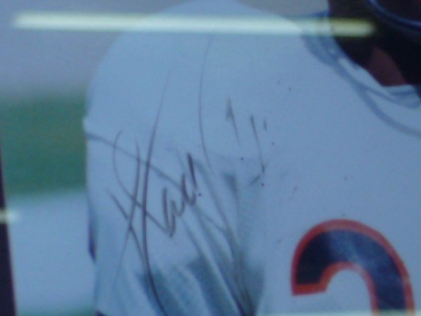 359: Walter Payton Framed Picture Signed - 3