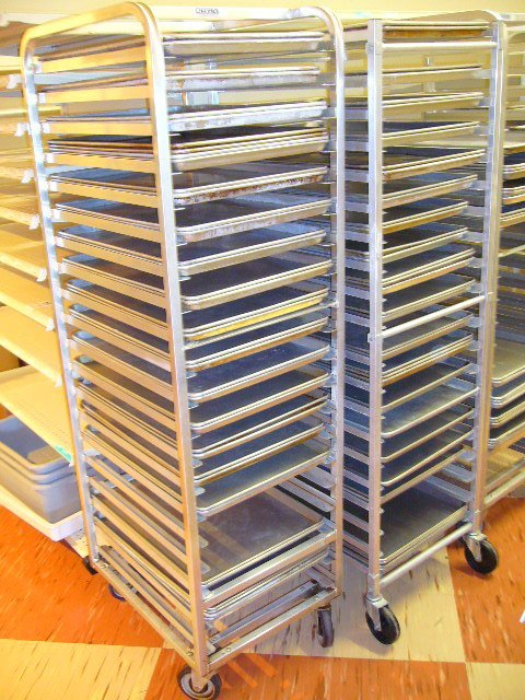 "193A: (11) 18""x26"" Full Size Aluminum Sheet Pans Perfor"