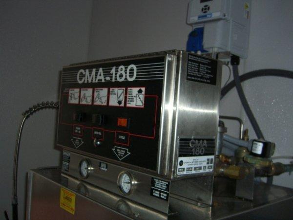 325A: CMA Model HTSB High Temp S/S Dishwashing Machine - 4