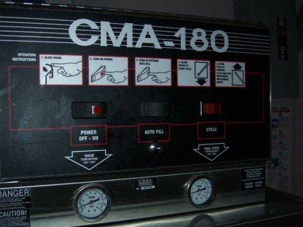 325A: CMA Model HTSB High Temp S/S Dishwashing Machine - 5