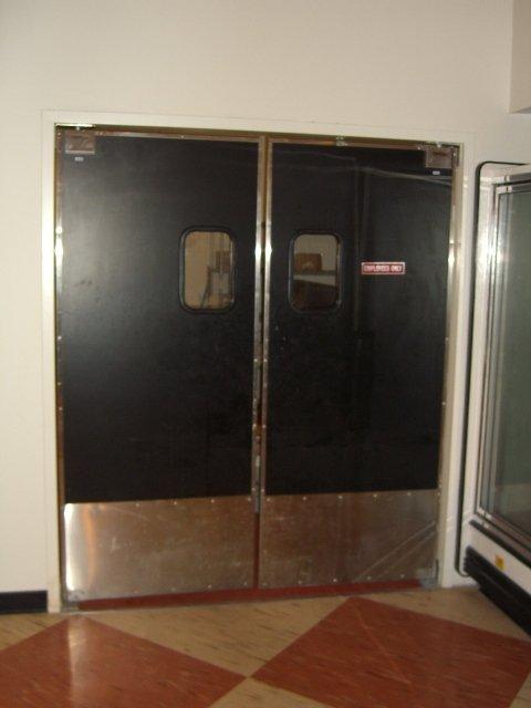 431A: (2) Eliason SCP368 Swinging Kitchen Doors